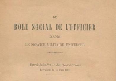 Le rôle social de l'officier, Lyautey